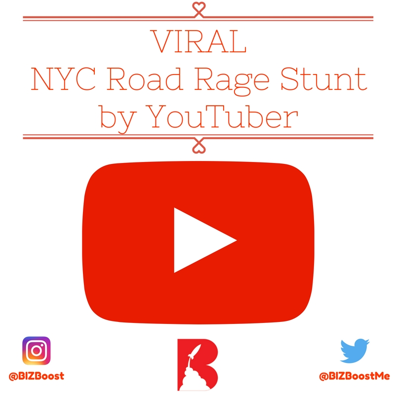 VIRAL NYC Road Rage Stunt by YouTuber Coby Persin - BIZBoost - Cover
